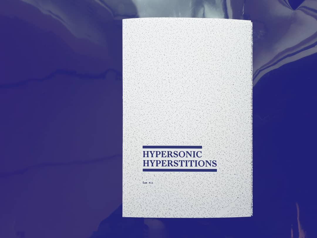 Hypersonic Hyperstitions